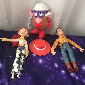 Jessi , Woody and Ms. Potato set